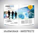 journal layout  vector | Shutterstock .eps vector #660378172