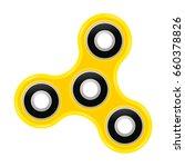 hand spinner flat vector... | Shutterstock .eps vector #660378826