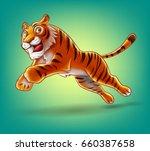 tiger | Shutterstock .eps vector #660387658