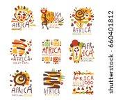 africa logo original design.... | Shutterstock .eps vector #660401812
