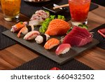 japanese food | Shutterstock . vector #660432502