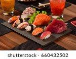 japanese food | Shutterstock . vector #660432502