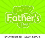 happy father day.abstract... | Shutterstock .eps vector #660453976