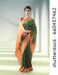 Small photo of Indian lady in saree