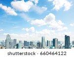 landscape of tokyo city | Shutterstock . vector #660464122