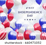 independence day of usa 4 july .... | Shutterstock .eps vector #660471052