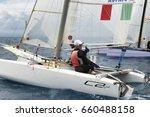 punta ala   3 june  athletic... | Shutterstock . vector #660488158