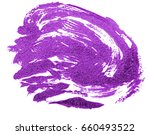 stain of purple oil paint on... | Shutterstock . vector #660493522