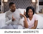 close up of young couple... | Shutterstock . vector #660509275