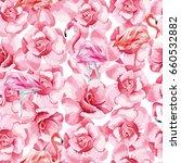 seamless vector pattern of... | Shutterstock .eps vector #660532882