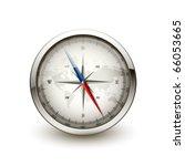 antique compass | Shutterstock .eps vector #66053665