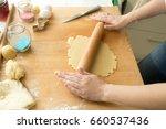 Closeup Photo Of Woman Making...
