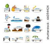 car and transportation... | Shutterstock .eps vector #66054424