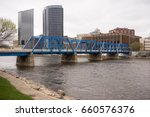 grand rapids michigan downtown... | Shutterstock . vector #660576376