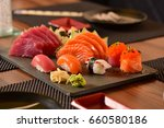 japanese food  | Shutterstock . vector #660580186