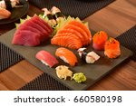 japanese food  | Shutterstock . vector #660580198