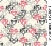 seamless japanese pattern in... | Shutterstock .eps vector #66058045