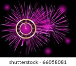 New Year Background   Vector...