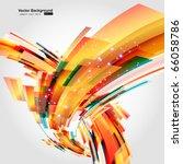 abstract background vector | Shutterstock .eps vector #66058786