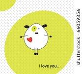 Illustration Of Dog In Love