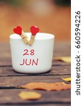June 28. Day 28 Of Month  Colo...
