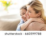 people and family concept  ... | Shutterstock . vector #660599788