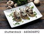 bruschetta | Shutterstock . vector #660606892