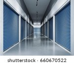 Storage Facilities With Blue...