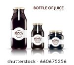 a realistic glass bottle of... | Shutterstock .eps vector #660675256