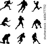 football player | Shutterstock .eps vector #660677752