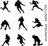 football player | Shutterstock .eps vector #660677755