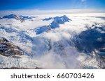 nice view of grossglockner peak ... | Shutterstock . vector #660703426