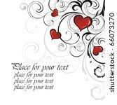 vector heart | Shutterstock .eps vector #66073270