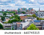 view of buildings in fells... | Shutterstock . vector #660745315