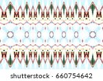 colorful horizontal pattern for ... | Shutterstock . vector #660754642