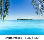 fantasy landscape island | Shutterstock . vector #66076423