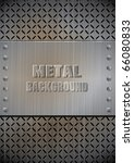 Metal template texture vector