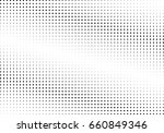 abstract halftone dotted... | Shutterstock .eps vector #660849346