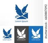 Logotype Of Homing Pigeon....