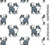 children's seamless pattern in... | Shutterstock .eps vector #660906466