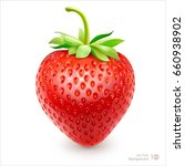 strawberry. vector eps 10. | Shutterstock .eps vector #660938902