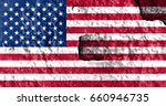 flag of united states | Shutterstock . vector #660946735