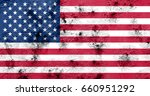 flag of united states | Shutterstock . vector #660951292