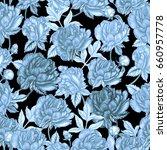 vintage seamless pattern | Shutterstock . vector #660957778