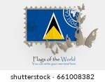vector flag measurements with... | Shutterstock .eps vector #661008382