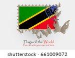 vector flag measurements with... | Shutterstock .eps vector #661009072