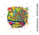 bratislava  slovakia  creative...   Shutterstock .eps vector #661011466