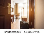 view of hotel room | Shutterstock . vector #661038946