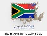 vector flag measurements with... | Shutterstock .eps vector #661045882