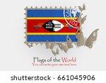 vector flag measurements with... | Shutterstock .eps vector #661045906
